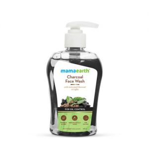 Mamaearth Charcoal Face Wash With Activated Charcoal & Coffee For Oil Control - 250ml
