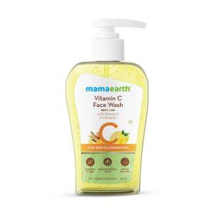 Mamaearth Vitamin C Face Wash With Vitamin C And Turmeric For Skin Illumination - 250ml