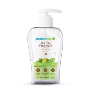 Mamaearth Tea Tree Face Wash With Neem For Acne & Pimples - 250ml