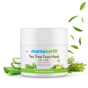 Mamaearth Tea Tree Face Mask For Acne, With Tea Tree & Salicylic Acid For Acne & Pimples