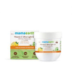 Mamaearth Vitamin C Ultra Light Gel Oil-free Moisturizer With Vitamin C & Aloe Vera Water