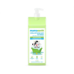 Mamaearth Milky Soft Body Wash For Babies With Oats, Milk And Calendula