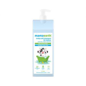 Mamaearth Milky Soft Shampoo With Oats, Milk And Calendula For Babies