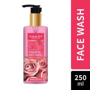 Vaadi Herbals InstaGlow Pink Rose Face Wash