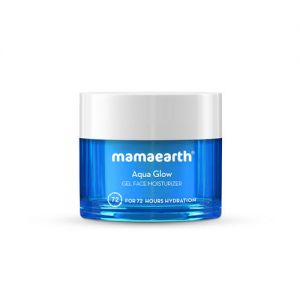 Mamaearth Aqua Glow Gel Face Moisturizer With Himalayan Thermal Water&hyaluronic Acid For 72 Hours