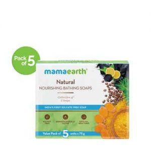 Mamaearth Natural Nourishing Bathing Soaps