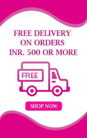 Free Delivery on orders Rs.500 Or More